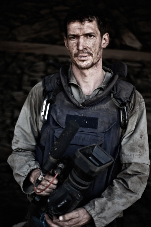 On April 20, 2011, photojournalist Tim Hetherington was killed whilst working in Misrata, Libya, covering the events of the bloody conflict. British photojournalist and filmmaker Tim Hetherington photographed on the last day of 'Operation Rock Avalanche' on October 25, 2007 at the Korengal Valley, East Afghanistan. Photo: Balazs Gardi