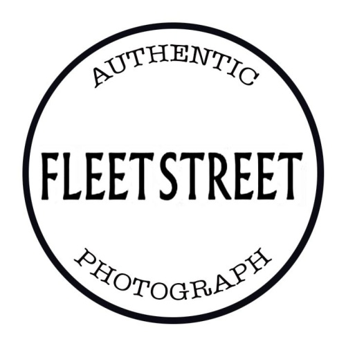 Authentic Fleets Street Photograph