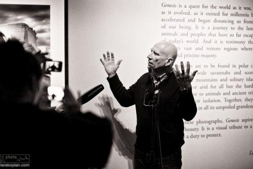 World premiere of Sebastião Salgado's Genesis Exhibition, Natural History Museum, London. April 09, 2013. Photo: Edmond Terakopian
