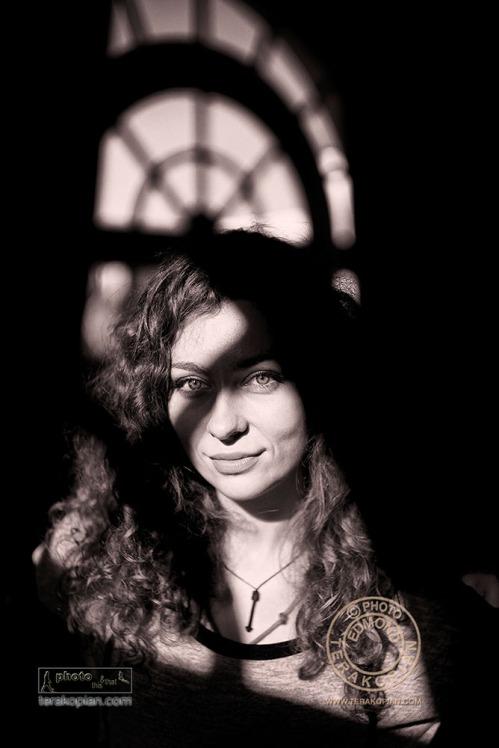A portrait of Maya, Heatherden Hall, Pinewood Studios, Pinewood Road, Iver, Slough, Buckinghamshire. October 24, 2013. Photo: ©Edmond Terakopian