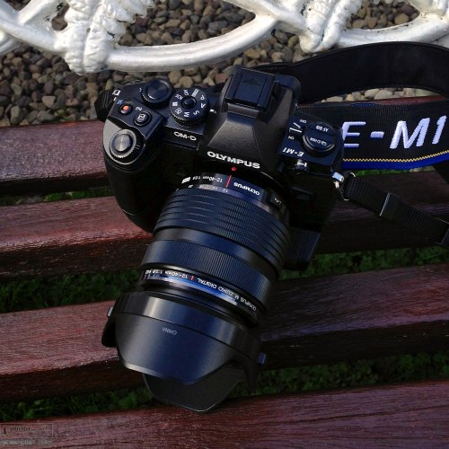 The Olympus OM-D E-M1 with the new Olympus M4/3 12-40mm f2.8 zoom and grip. Castle Leslie, Glaslough, Ireland. September 10, 2013. Photo: ©Edmond Terakopian