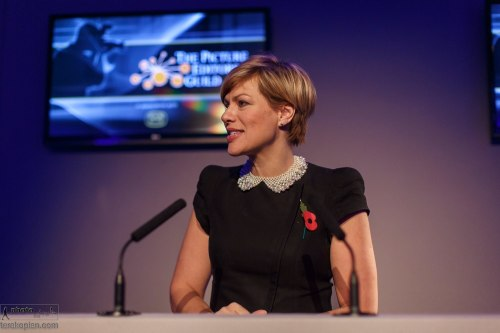 Kate Silverton at the Picture Editors Guild Awards 2013. The Honourable Artillery Company, London. November 04, 2013. Photo: Nick Ray | www.nickrayphotography.co.uk