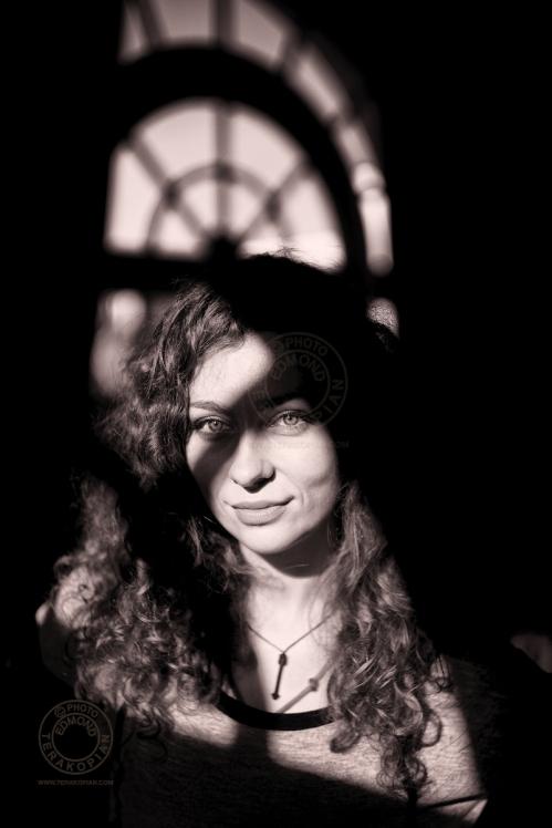 A portrait of Maya, Heatherden Hall, Pinewood Studios, Pinewood Road, Iver, Slough, Buckinghamshire. October 24, 2013. Photo: Edmond Terakopian