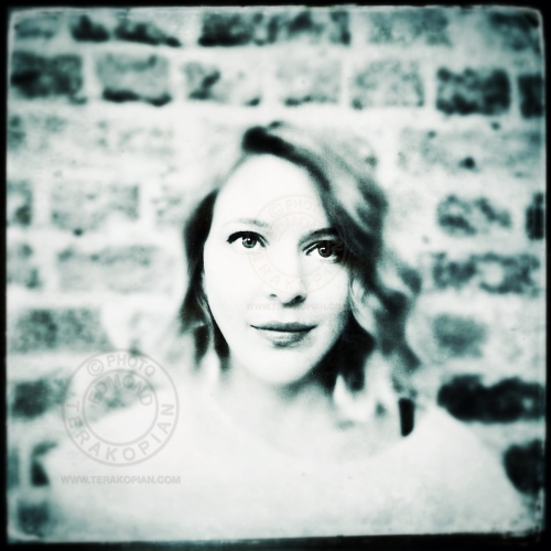 A portrait of Megan. London. August 18, 2013. Photo: Edmond Terakopian