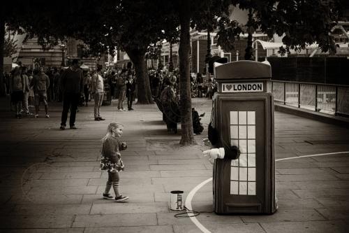 Life along London's South Bank. June 27, 2013. Photo: ©Edmond Terakopian