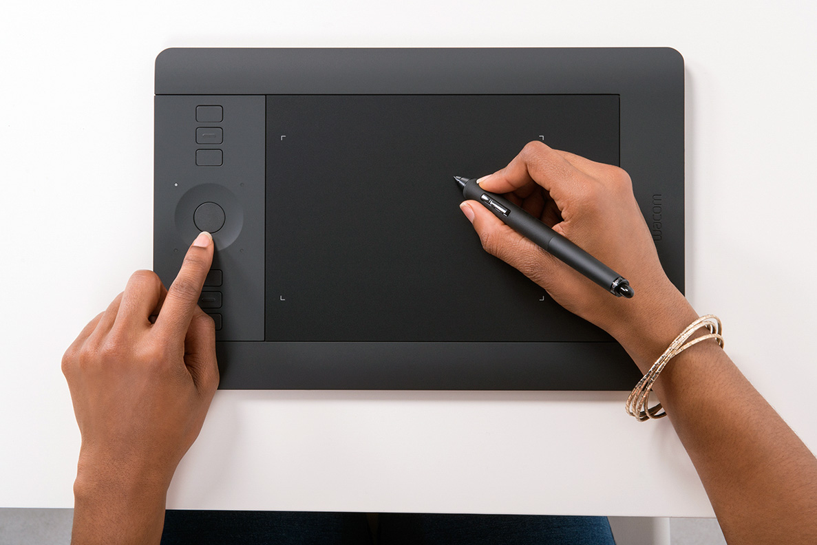 The Wacom Intuos Pro small tablet. Photo: ©Wacom