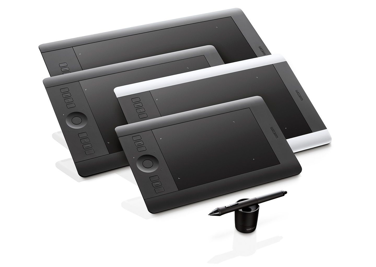 The Wacom Intuos Pro family of tablets. Photo: ©Wacom