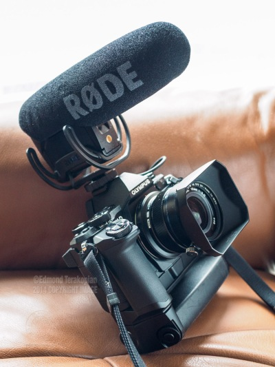 The new Rode VideoMic Pro incorporating a built-in Lyre suspension mount by Rycote. May 19, 2015. Photo: Edmond Terakopian