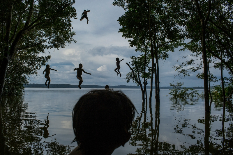 1. Tapajós River, Itaituba, Pará State, Brazil, on February 10, 2015. 