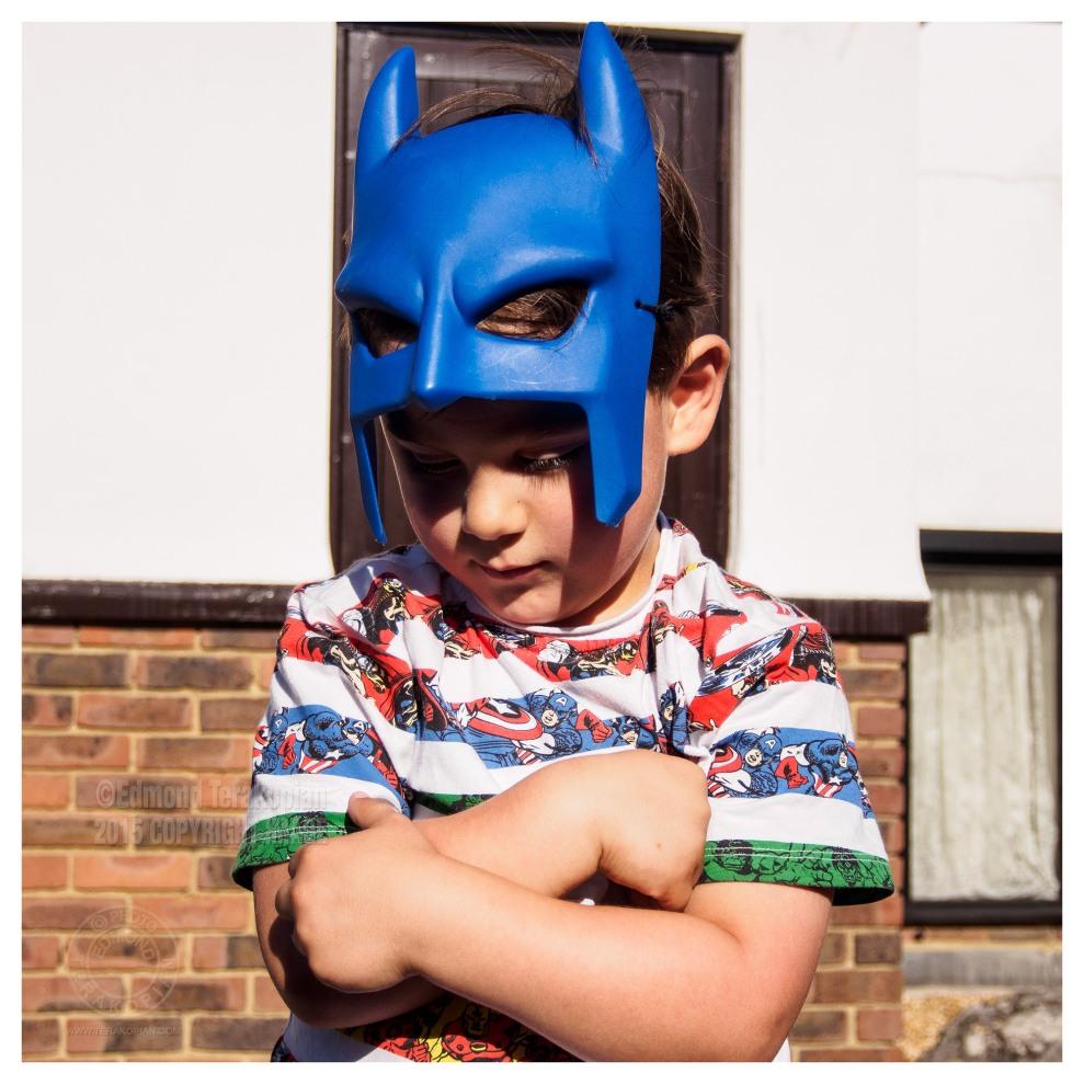 Edward, the thoughtful superhero. July 19, 2015. Photo: Edmond Terakopian
